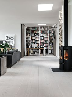 Morten Bo Jensen and Kristina May Jensen's AMAZING place in Copenhagen, featured in KK Living #1/2013. Morten is the chief designer of vipp.dk. The place is killing us with its magnificence! Pic by Anders Hviid