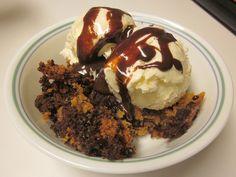 crockpot cookie brownie dessert