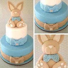 bunny rabbit cake via Wintersgate on Flickr
