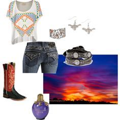 """""""Red Ragtop"""" by cowgirl14 on Polyvore"""