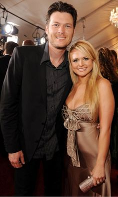 Blake and Miranda Shelton  Country Music's reigning King & Queen
