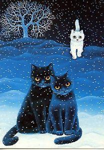 Postcard Carte Postale Illustrateur Anna Hollerer N° LA 152 CAT ...