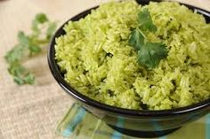 Just Cooking: Green Rice