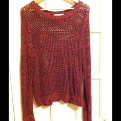 Cute see through XL sweater from old navy. Cute see through XL sweater from old navy. Pre-loved, worn approx. 4 times. Washed never dried. Good Condition! Old Navy Sweaters Crew & Scoop Necks