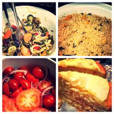 Moroccan couscous, roasted veggies, fresh tomato and onions are all the ingredients needed for an amazing Friday lunch...and not forgetting the mouth-watering lemon cake that will refresh your palate for afters! #cafe #winchester #lunch #pitfieldwinchester