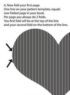 34 best folded book patterns images on pinterest in 2018 altered