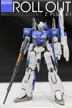 Gunpla Custom, Custom Gundam, Zeta Gundam, Gundam Art, Msv, Thing 1, Gundam Model, Mobile Suit, Golf Bags