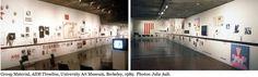 Group Material: Aids Timeline, 1989. University Art Museum, Berkeley. Photos: Julie Ault.