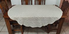 Vintage Machine Crochet Small Round Tablecloth, 150cm/59in Hardanger Embroidery, Point Lace, Crochet Borders, Crochet Round, Round Tablecloth, Table Toppers, Tablecloths, Cotton Thread, Handmade Christmas