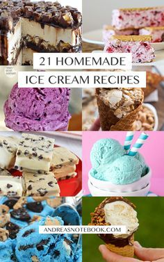 21 homemade ice cream recipes that will make you drool.