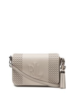 Lauren Ralph Lauren Leather Carmen Crossbody Bag