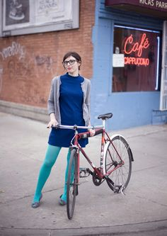 Kim rides a lugged Miyata frame converted to fixed gear for easy cleaning and upkeep in the winter Tell me more about your bike: This i. Bicycle Women, Bicycle Girl, Urban Cycling, Urban Bike, Cycle Chic, Bicycle Maintenance, Cool Bike Accessories, Bike Style, Kimono