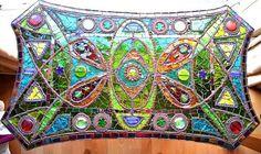 Hoi! Ik heb een geweldige listing gevonden op Etsy https://www.etsy.com/nl/listing/217430503/mosaic-table-light-box-upcycled-antique