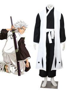 Vivid Hitsugaya Toushirou Cool Bleach Cosplay Costume - Cosplayshow.com by Milanoo