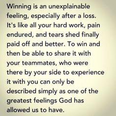 Winning and sharing
