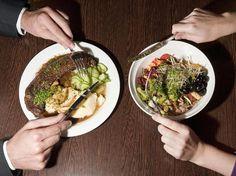 Fleischgericht oder Salatteller? Laut einer Studie der Nestlé-Marktforschung wird Ernährung immer zur Gewissensfrage.