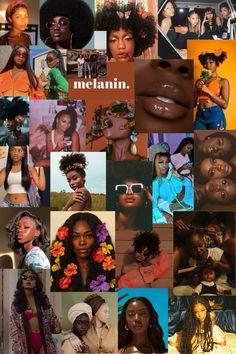 Black Love Art, Beautiful Black Girl, Black Girl Art, Black Girl Magic, Art Girl, Black Girls, Iphone Wallpaper Tumblr Aesthetic, Black Aesthetic Wallpaper, Black Girl Aesthetic