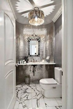Blingn' bathrooms