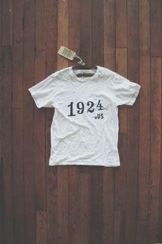 1924us: The 1924 Tee! We are so happy to announce our batch of tee-shirts forboth the lads 'n ladies alike. With our heather-grey and barn-...