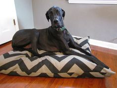 Gonna make one of these for a two dog bed. Great idea for covering up all those smelly dog blankets.