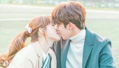 The ending, ugh I need either another season or another drama with these two - Weightlifting Fairy Kim Bok Joo