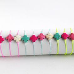 bracelet neon armcandy packaging cross