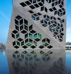Geometric | bicentennial civic center, argentina by GGMPU arquitectos + lucio morini.