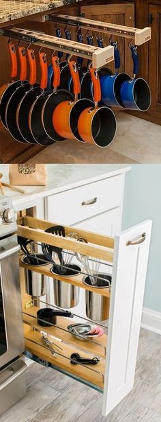 Kitchen storage space is always at a premium, and this is especially true in small kitchens. But fortunately, having a kitchen with a small footprint doesn't have to mean always struggling to fit things in. If you're remodeling, consider one of these 13 solutions that will help you get the most out of your small …