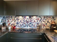 Interior : backsplash for a kitchen