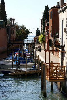 Venedig, Giudecca, Rio della Croce, Italy