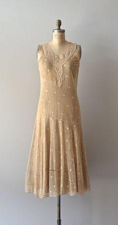 Viralei lace dress /  vintage 1920s dress / lace 20s by DearGolden, $585.00