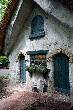 The fairytale  house of vrouw Holle in the Efteling. Kaatsheuvel in the Netherlands.