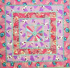 I ❤ crazy quilting & embroidery . . . Fond Memories, 2012 ~By Valerie Bothell, Pink Bunny