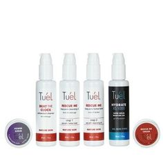 Tuel ANTI AGING travel Skin Care pack 6 pc Set >>> Check this awesome product by going to the link at the image. (This is an affiliate link) Lighten Dark Spots, Korean Skincare, Travel Packing, Anti Aging Skin Care, Beauty Skin, Collagen, Cool Things To Buy, Personal Care, Care Pack