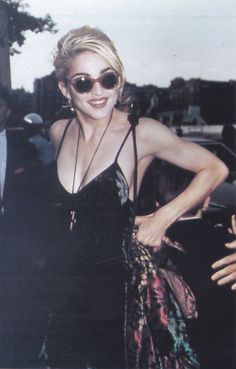 Madonna at Dick Tracy's premiere, 1990