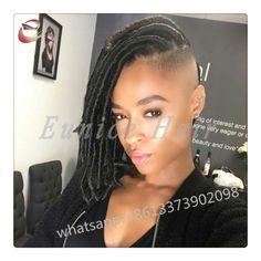 Cheap 18inch Faux Locs Curly Crochet Jumbo Braid Hair Extension,synthetic dreadlocks Wavy Braiding Hair Bundles sisterlocks