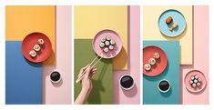 Sushi on Behance Photography Branding, Photography Tips, Object Photography, Product Photography, Importance Of Light, Japanese Dishes, Tea Art, Summer Fruit, Art Studios