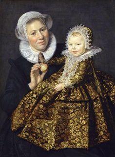 Frans Hals (1582/83-1666), Catharina Hooft with her nanny, 1619/1620, 91,8 x 68,3 cm, Gemäldegalerie, Berlin
