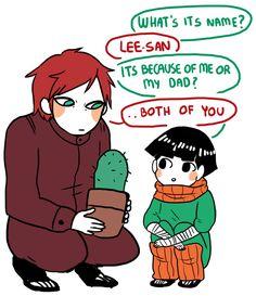 Gaara y el hijo de lee