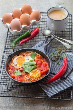 Eggs in Hell, des Œufs d'Enfer pour le brunch !