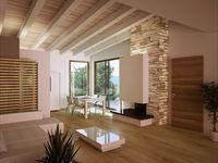 Soggiorno di casa prefabbricata - http://www.dibaio.com/testata/case-e-ville.aspx