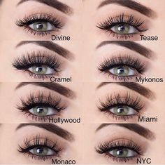 Which of these styles is your favorite?! Another great swatch by  @makeupbyliha displaying 8 different styles of #LillyLashes ⠀ #GhalichiGlam⠀⠀ ⠀⠀ ⠀⠀ Check out all the GLAM styles at⠀⠀ ✨www.LillyLashes.com✨⠀⠀ Or click the ☝link in our bio☝️⠀