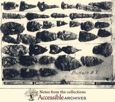 (New York) Native American Artifacts from around Buffalo, NY