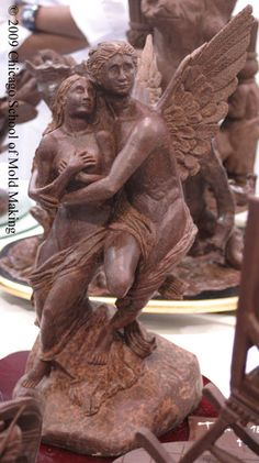 Chocolate sculpture...wow! Look at all of the detail!