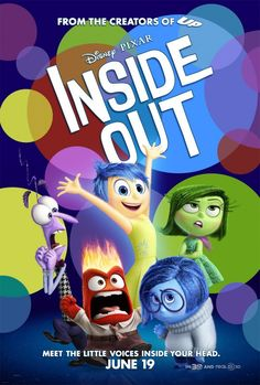 Pixar's 'Inside Out' Theatrical Poster