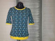 Geometric Lillestoff Sewing, T Shirt, Supreme T Shirt, Dressmaking, Tee Shirt, Couture, Stitching, Sew, Tee
