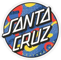 Santa Cruz Stickers, Red Bubble Stickers, Santa Cruz Logo, Typo Logo, Typography, Brand Stickers, Hippie Wallpaper, Vans Logo, Aesthetic Desktop Wallpaper
