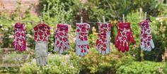 Laura Ashley garden gloves.