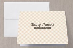 Country Classic Thank You Cards by Laura Hankins at minted.com