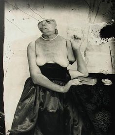 Interrupted Reading, Paris, 1999  Joel-Peter Witkin  Represented by The Edelman Gallery
